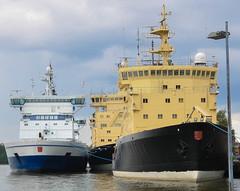 ICEBREAKER SUMMER LAYBY (LeHavreShips) Tags: eisbrecher jäänmurtaja ijsbreker briseglace 破冰船 isbryder isbrytare ледокол isbryter 쇄빙선