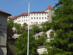 Upper City (m_artijn) Tags: upper city prague cz valdstejnska palace green park