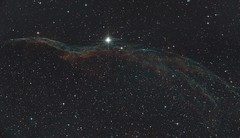 The western Veil nebula (Witch's Broom) (Matthi900) Tags: ngc6960 veil nebula supernova remnant witchs broom space astronomy astrophotography stars astrometrydotnet:id=nova1649736 astrometrydotnet:status=solved