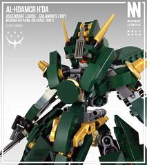 AL-HDAMCR HDa (Messymaru) Tags: original robot lego mecha mech moc mechwars messymaru