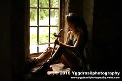 Tomb Raider Shoot with Annick 32 (berserker244) Tags: yggdrasilphotography60072016 guerrillaphotography yggdrasilphotography evandijk annick annickscosplay laracroft tombraider riseofthetombraider grebbeberg rhenen
