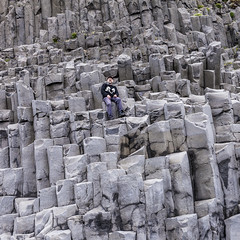 Resting at the basalt columns Gardar (agustago) Tags: 2016 agusta agustagudrun agustagudrunolafsdottir agustaphotocom candid extremeiceland iceland icelandnatur ilovemycountry inspiredbyiceland markii southiceland agustago agustagudrunphotography blackbeach canon hike hiking landskape nature sea sky traveliceland sland travel traveling basalt stulaberg rock blackpebble stonework architecture outdoor rockformation gardar climbing basaltcolums klettaklifur