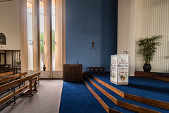 INTERIOR SHOTS OF SAINT PATRICKS CHURCH [FOR MY SECOND SESSION I HAD SOME FUN USING A 15mm LENS]-119920 (infomatique) Tags: galway interior church saintpatricks voigtlnder15mm ultrawideangle lens williammurphy sony a7rm2 ireland infomatique zozimuz fotonique