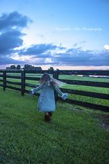 Edit 1 WM IMG_3793 (Brenda Davis 28) Tags: field twirl fence daughter beauty fun