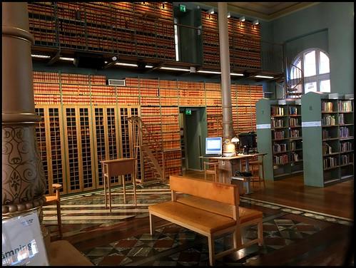 Riksdagsbiblioteket, Stockholm, interior