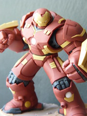 Disney Infinity figures (spikeybwoy - Chris Kemp) Tags: disney disneyinfinity macro closeup hulkbuster ironman avengers marvel marvelcomics
