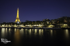 Smoothness (Lonely Soul Design) Tags: paris bir hakeim eiffel tower long exposure canon wide angle france monument