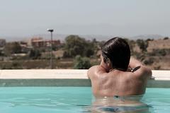 . (CarloAlessioCozzolino) Tags: amore love silvia sil persona people piscina pool acqua water lameccanicadelcuore mathiasmalzieu ragazza girl estate summer