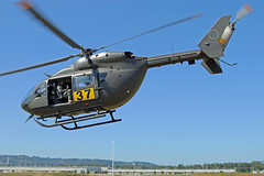 Guard Copter 72237 (planephotoman) Tags: americaneurocoptercorporation mbbbk117c2 h72 uh72 uh72a lakota 72237 117237 37 detachment1 alphacompany 1st battalion112th aviation regimentsssecurity supportoregon army national guardus armyportland police bureausertspecial emergency reaction teamjoint trainingtroutdale airport ttd kttd