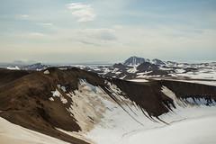 Krafla Viti Crater 13 (sarahmonious) Tags: kraflaviticrater kraftla viti myvatn kraftlavolcano volcanocrater crater hverir snow route1iceland route1 ringroad iceland iceland2016 icelanding2016 traveling