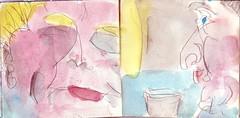 sie hatte ihn niemals wirklich angesehen und er hatte es vergessen (raumoberbayern) Tags: sketchbook skizzenbuch tram munich mnchen bus strasenbahn herbst winter fall pencil bleistift paper papier robbbilder stadt city landschaft landscape