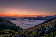 Cloud Inversion (Explored 20/08/16) (Daniel Coyle) Tags: cloudinversion lake lakedistrict cumbria sunrise landscape clouds cloud ullswater glenridding dawn mountains hill camp camping wildcamp nikon nikond7100 d7100 danielcoyle england uk view sheffieldpike