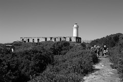 0D6A3231 - Fingal Lighthouse and Ruins (Stephen Baldwin Photography) Tags: lighthouse people trees ruins fingal nsw australia