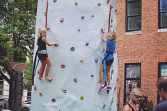 365 Project - August 20 (lupe1515) Tags: 365 project wall climbing hannah olivia sisters outside