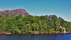 Loch Katrine 3 (brightondj - getting the most from a cheap compact) Tags: scotland trossachs thirdwalk lochkatrine loch water reservoir benaan woods trees forest