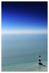 Lighthouse in chalky sea (tsobanski19) Tags: lighthouse leuchtturm eatsbourne beachy head uk england kste coast d800 nikon nikkor kreide