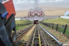 Saltburn by the Sea Cliff Lift (kev thomas21) Tags: train uk waterfront water waves pier tees history old photography photographers yorkshire clifflift saltburn england