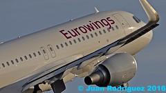 D-AEWL - Eurowings - Airbus A320-214(WL) - PMI/LEPA (Juan Rodriguez - PMI/LEPA) Tags: nikon d90 sigma 70200mm 80400mm pmilepa sonsanjuan sonsantjoan palma mallorca avin plane aeronave aeroplano planes airplane airplanes aircraft airbus a320 daewl eurowings
