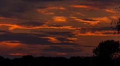 Monday Sunset (114berg) Tags: 12sept16 sunset moon rise rapid city illinois