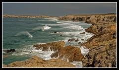 LA COTE SAUVAGE - QUIBERON (Odile ENTRE MER ET MONTAGNE) Tags: bretagne morbihan cotesauvage quiberon sea mer paysage seascape vagues cote rochers