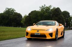 LFA (Aimery Dutheil photography) Tags: lexus lfa lexuslfa nurburgring orange v10 salonprive blenheimpalace rain uk london oxford supercar rare exotic fast speed amazing canon 70d