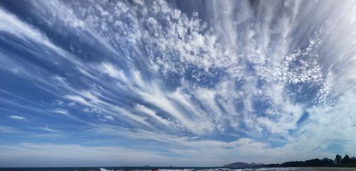 Mixed cirrus cloud