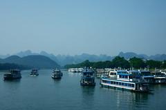 Ships (tatsuya.okuhara) Tags:  guilin china  yangshuo