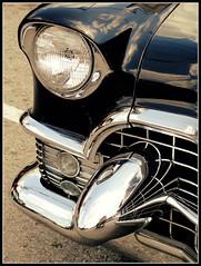 Yesterday's Ride ~ 1955 Cadillac (e r j k . a m e r j k a) Tags: cruise classic cars 1955 vintage automobile ride pennsylvania headlights falls cadillac grill beaver caddy erjkprunczyk