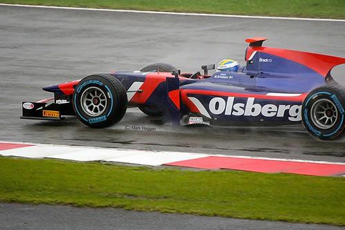 Marcus Ericsson at Silverstone