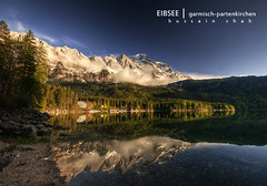 Eibsee (Hussain Shah.) Tags: mountain lake germany bavaria garmischpartenkirchen eibsee