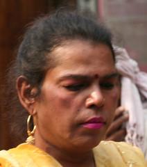 Hijra (brightasafig) Tags: india tourism face poem streetlife transgender photograph transvestite ethnic theft privacy eunuch hijra alienation olddelhi intrusion portraitsthattellastory turkmangate voyageursdumonde seetherealindia nicecandid shootthemastheylay bleakcuriosities
