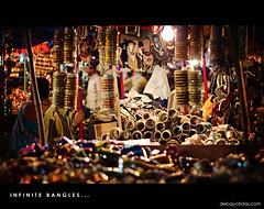 """""""Infinite Bangles"""" - Churi Bazzar @ Charminar"""
