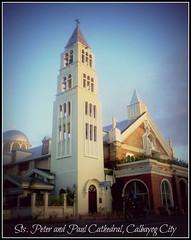 Sts. Peter and Paul Cathedral, Calbayog City, Samar, Philippines (sleepyheadjom) Tags: city church paul cathedral philippines peter samar sts calbayog