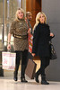 Ashley Tisdale shopping at Louis Vuitton with her mother, Lisa Tisdale