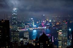 (JAhrensy) Tags: travel urban night hongkong asia cityscape victoriapeak d7000 meganahrens jahrensy megs2467