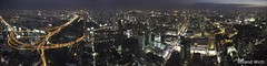 Bangkok Panorama (Rolandito.) Tags: city light panorama tower night thailand lights asia view bangkok south east ii vista southeast vue overview thailande baiyoke