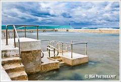 Steps (RGA Photography) Tags: ocean water pool canon newcastle waves empty australia baths nsw swell