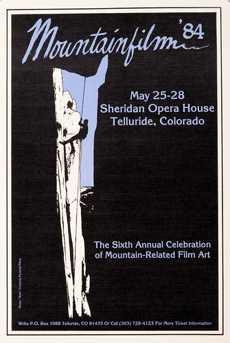 1984 Mountainfilm in Telluride Festival Poster