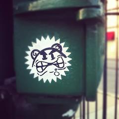 RUPERT (billy craven) Tags: chicago graffiti sticker rupert handstyles slaptag uploaded:by=instagram
