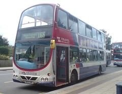Travel West Midlands Volvo B7TL/Wright Eclipse Gemini 4514 (BU53 UML) (john-s-91) Tags: twisted solihull travelwestmidlands 4514 volvob7tl route169 wrighteclipsegemini bu53uml