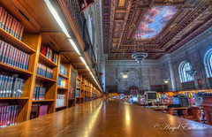 Quiet time in the New York Public Library. (Angel Escalante Photography) Tags: city nyc ny newyork manhattan library newyorkpubliclibrary cityscapes hdr 42ndstreet