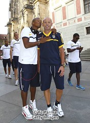 Il Parma visita Praga (Parma F.C.) Tags: football prague soccer praga czechrepublic parma fc seriea clubsoccer ritiro fabianosantacroce estivofootballsoccerclubsoccerpragueczechrepubliccze