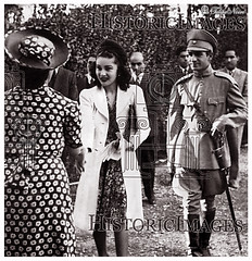 Shah Mohamed Reza Pahlavi & Empress Fawzia Visit a Home of Indigent Mother & Infants - Tehran On April 12, 1941 (Tulipe Noire) Tags: home iran mother egypt middleeast persia visit reception 1940s egyptian empress tehran reza infants 1941 mohamed shah indigent pahlavi fawzia