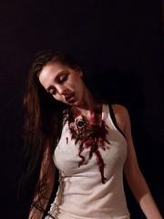hand made chestburster (ErrorFett) Tags: alien prometheus facehugger xenomorph chestburster