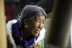 -Old woman2 Ladakh.Jammu kashmir.India (courregesg) Tags: people woman india lake festival feast asia religion lac tibet kashmir himalaya ethnic anthropology ladakh jammu tsomoriri ethnology ladakhi boudhisme korzok