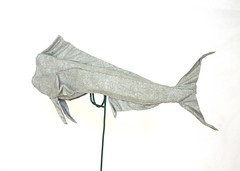 Dolphinfish (Mahi mahi) (folding~well) Tags: fish paper origami dolphin folding