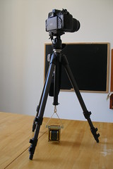 Tripod stabilizer weight hook (5Volt) Tags: manfrotto photographyhack tripodhack