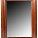 53. Mahogany Wall Mirror