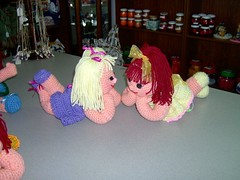 Dolls (Shelley's Crochet Olé) Tags: crochet crochetdolls shelleyscrochetole