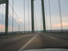 The Delaware Memorial Bridge (RYANISLAND) Tags: road nyc newyorkcity travel ny newyork cars car de newjersey highway nj roadtrip highways delaware turnpike expressway roads 95 i95 newjerseyturnpike 495 njturnpike cartravel